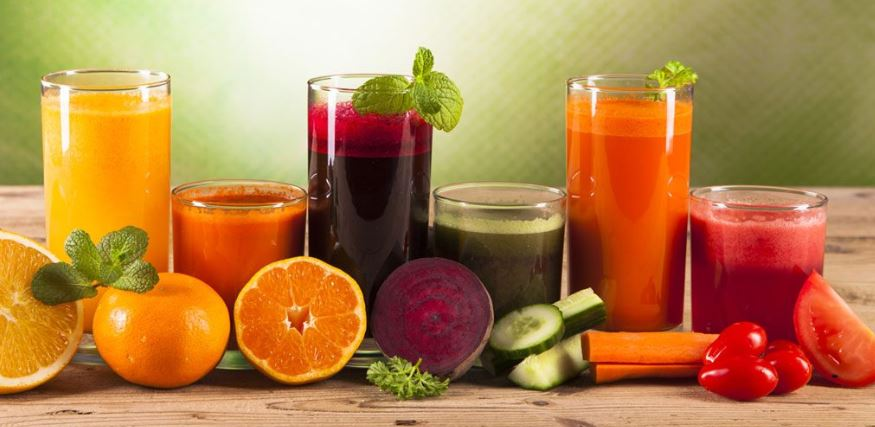 Juice with a Blender