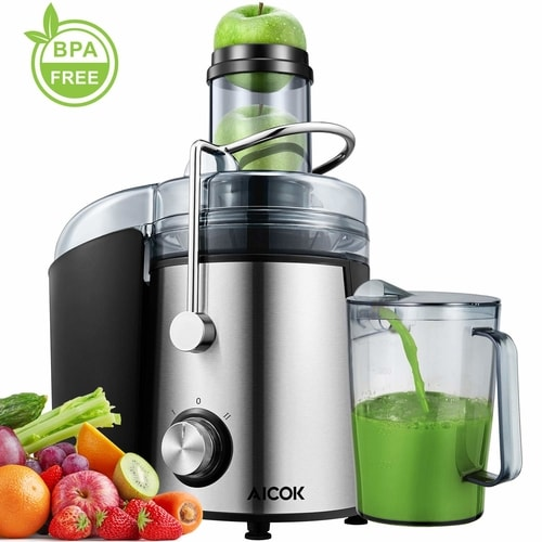 Aicok Dual-Speed Powerful Centrifugal Juicer